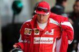 F1   ライコネン、バトル中のドライビング基準に疑問