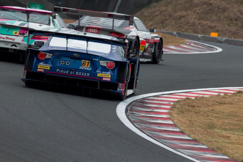SUBARU BRZ GT300は駆動系トラブルで今季初のリタイア