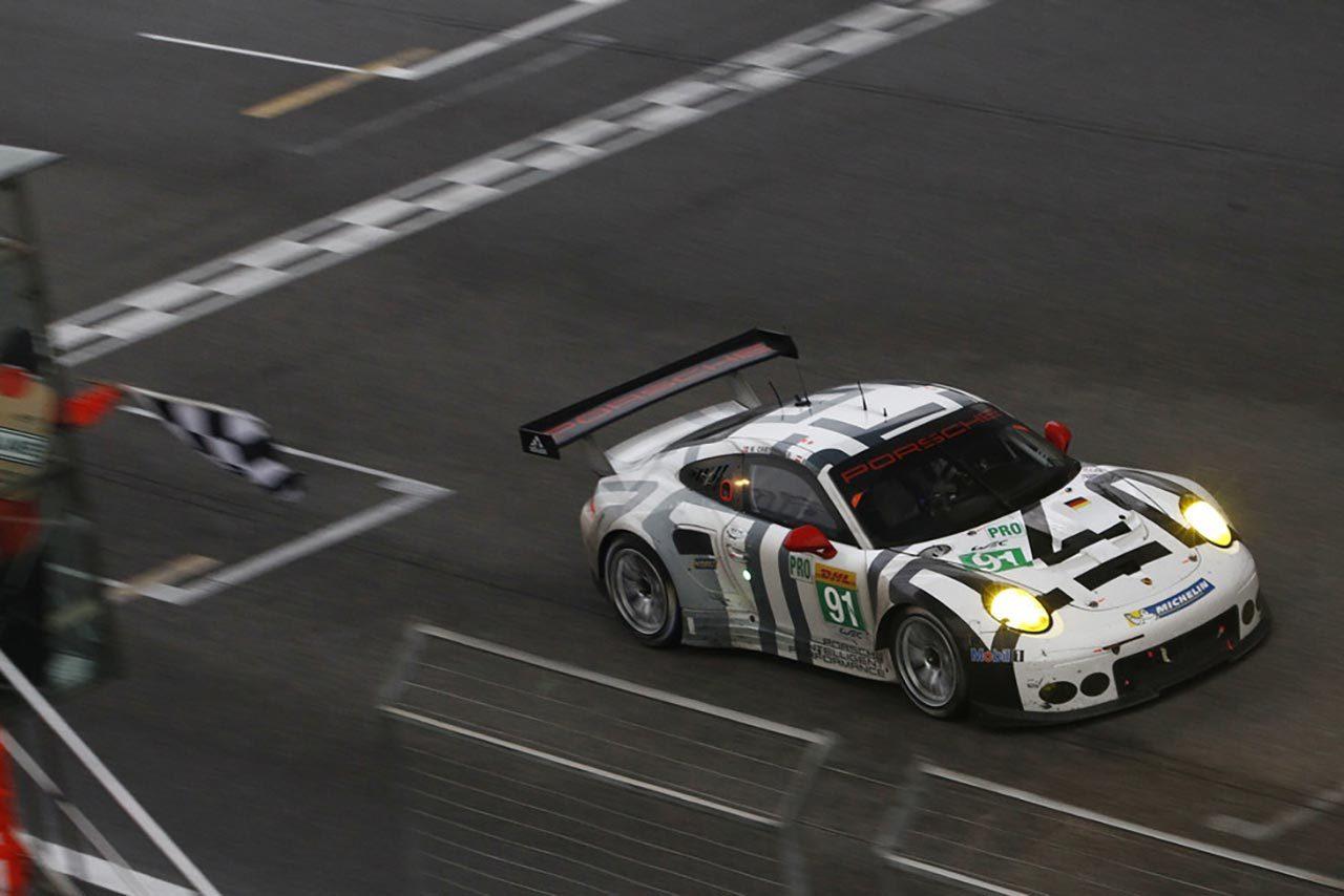 ポルシェ911がLM-GTEで3勝目:WEC上海(1)