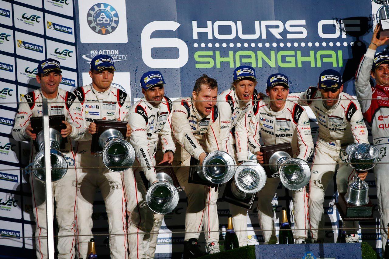 ポルシェ1-2で製造者タイトル獲得:WEC上海(3)