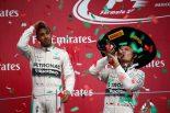 F1 | ハミルトン「チームはロズベルグを勝たせたかった」と示唆