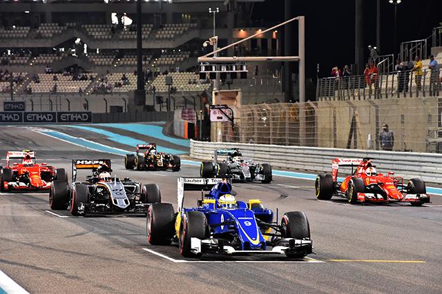 F1第19戦アブダビGP