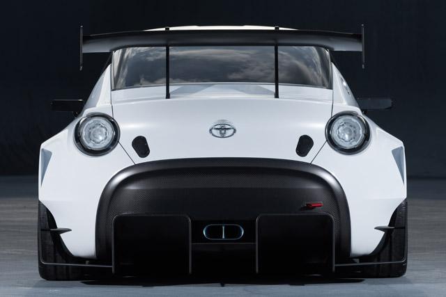 オートサロンに『トヨタS-FR』レース仕様車出展