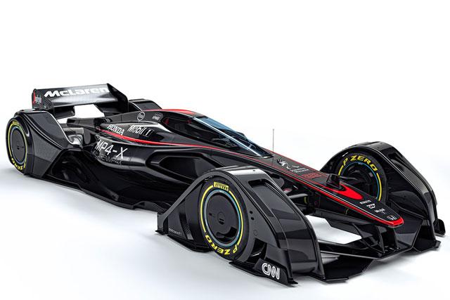 マクラーレン、近未来レースカーのコンセプト公開(1)
