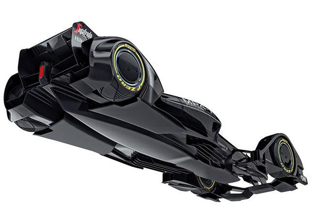 マクラーレン、近未来レースカーのコンセプト公開(4)