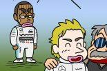 F1 | 【つぶやきグラ天】ふくざつなハミルトン