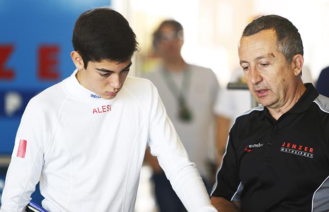 アレジ、息子ジュリアーノの来季GP3参戦認める(2)