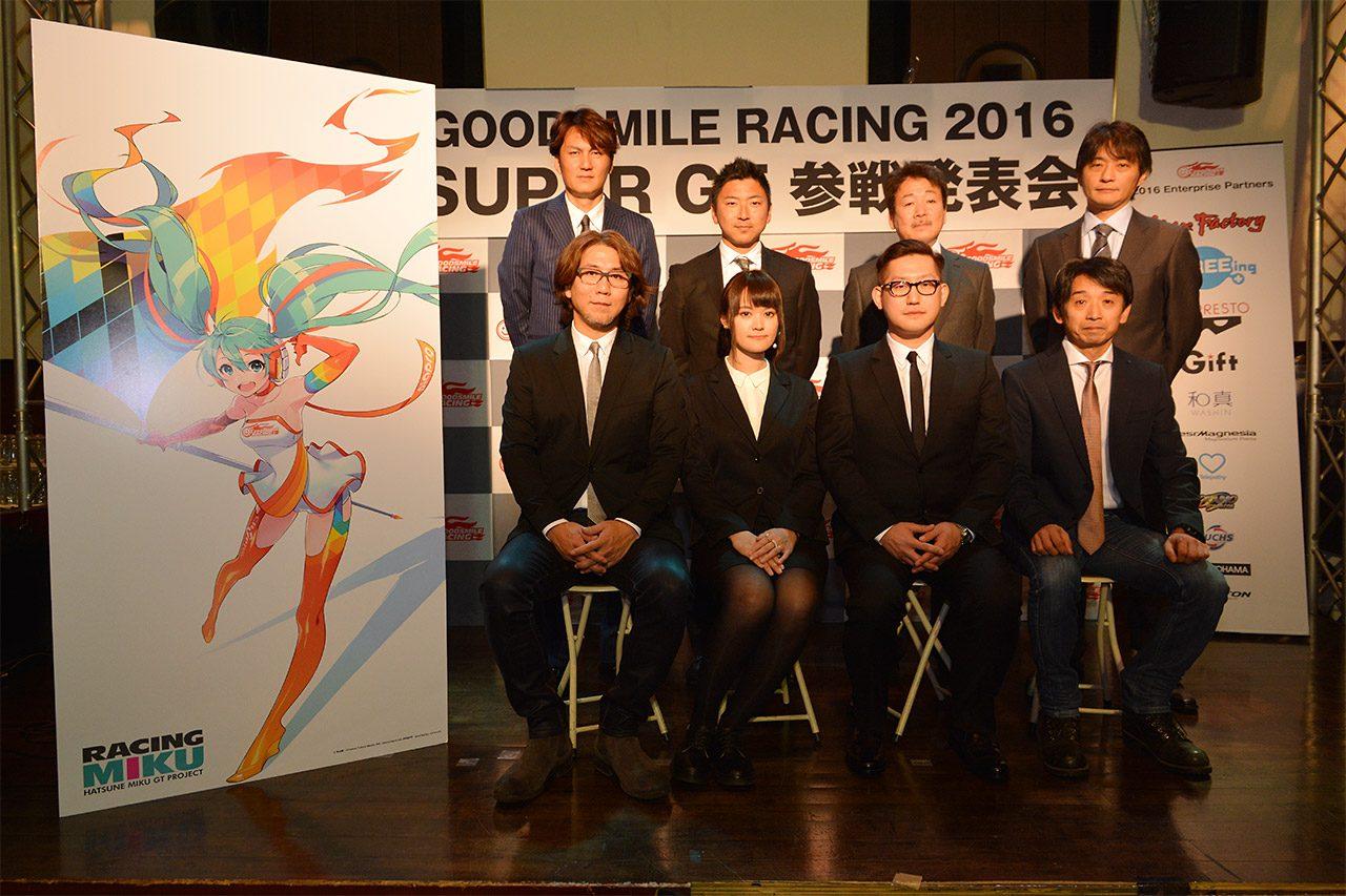 GSR、16年も谷口&片岡コンビ継続。AMG GT3使用(1)