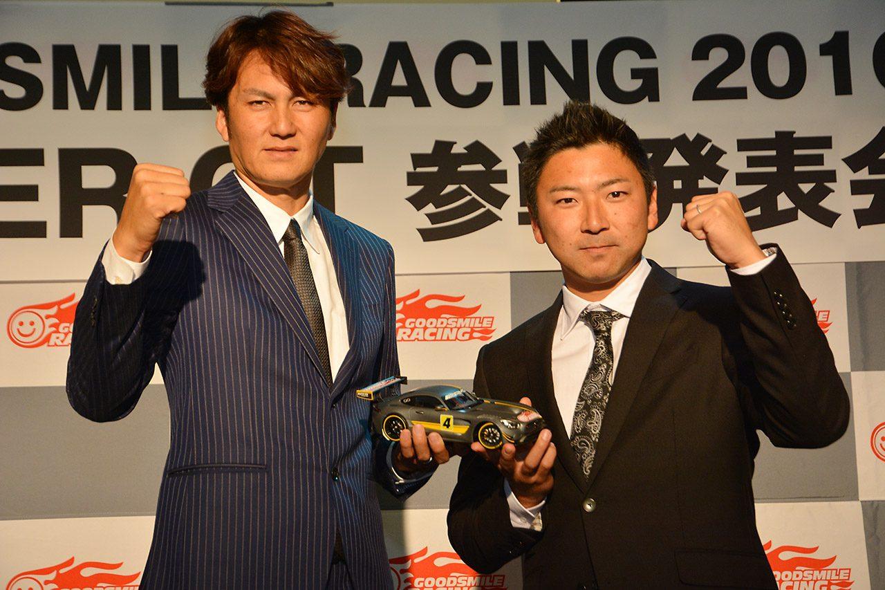 GSR、16年も谷口&片岡コンビ継続。AMG GT3使用(2)