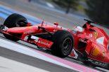 F1 | ウエットタイヤテスト2日目はベッテルがトップ
