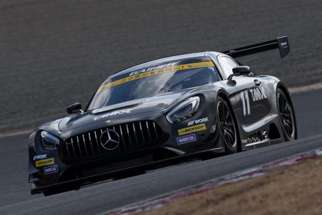GAINER AMG GT3が岡山でシェイクダウン。61周走破(5)