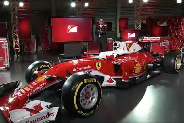 フェラーリ、レトロカラーの新車を初公開(1)