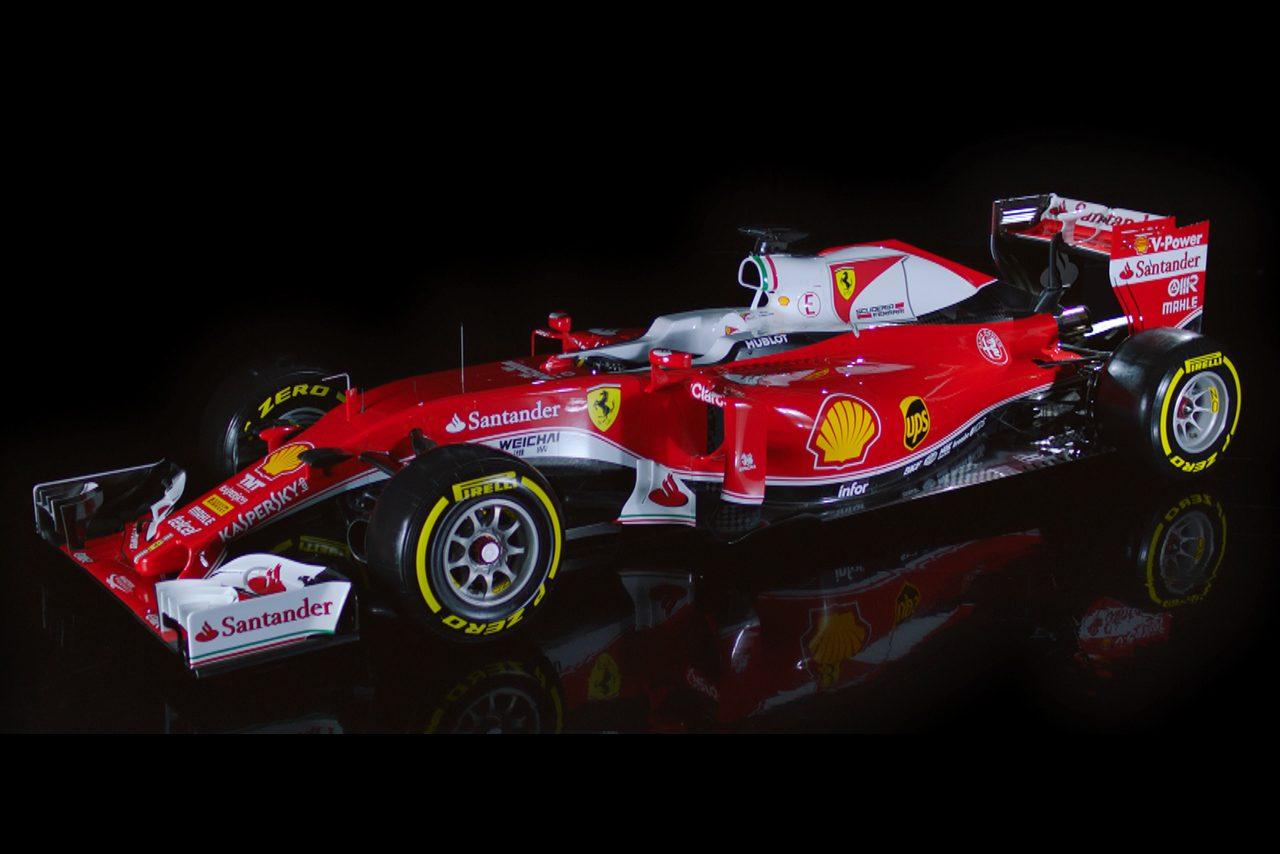 フェラーリ、レトロカラーの新車『SF16-H』を初公開(1)