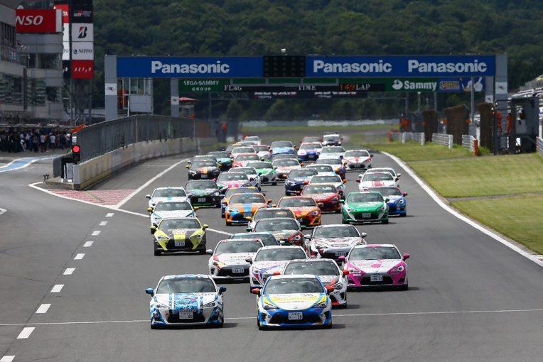 トヨタは86/BRZ RaceやNetz Cup Vitz Race、ラリーチャレンジを通じて参加型モータースポーツ活動を行っていく