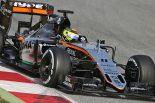 F1 | ペレス、VJM09初走行「実験繰り返し性能引き出す」