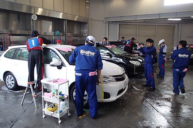 日本一の座を懸け、キーパー技術コンテストが開催(3)