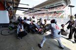 F1   ハース 初走行で「予想外」の周回数。2チーム凌ぐ