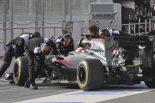 F1 | ホンダ中村聡インタビュー「走り出すまで緊張した」