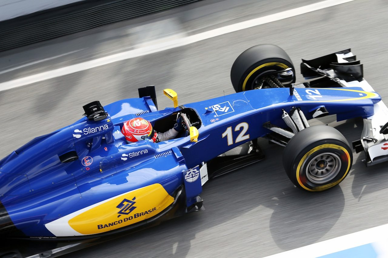 ザウバー、旧車でのテストは「有益だった」と強調(1)