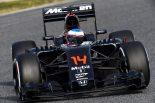 F1 | アロンソ、テスト終了「ホンダに関し明るい答えが見つかった」