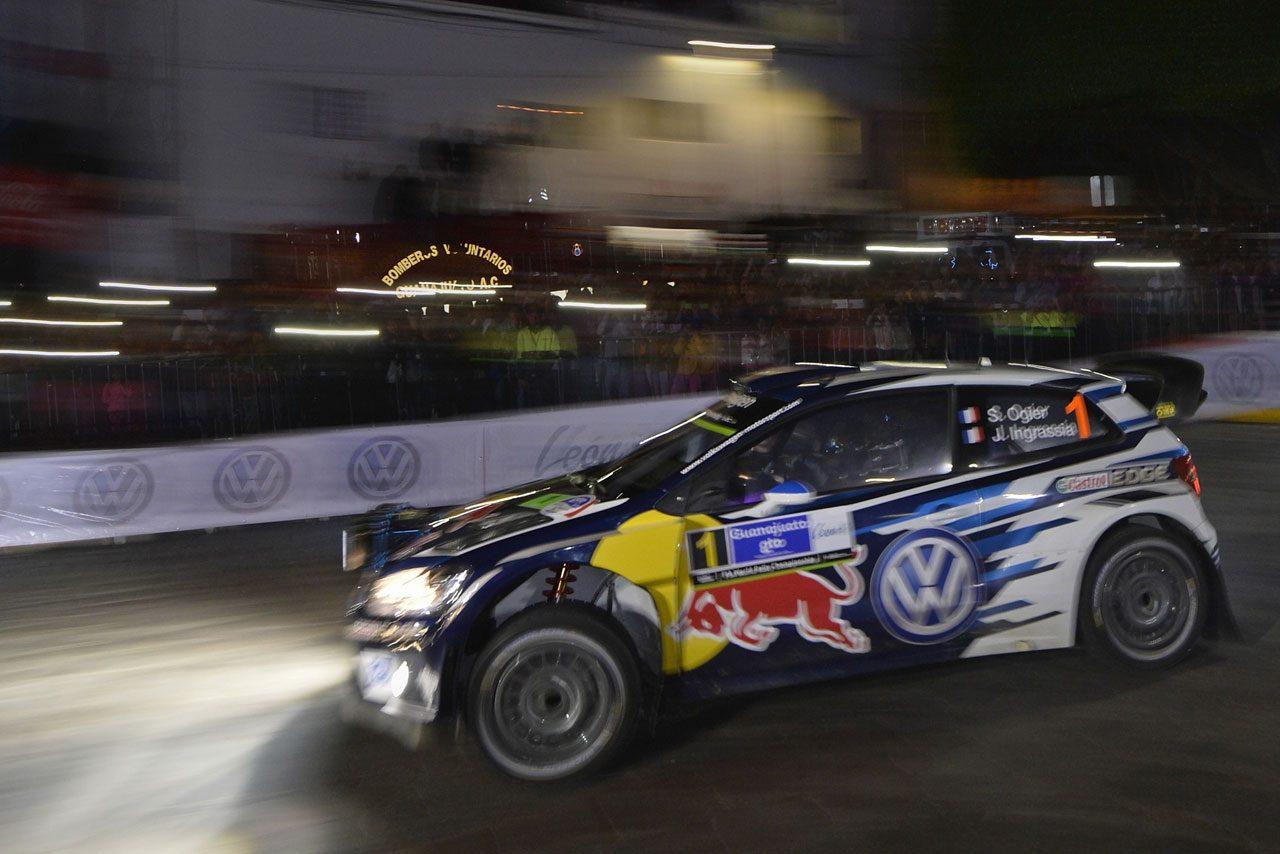 WRC第3戦メキシコ SS3後 暫定結果(1)