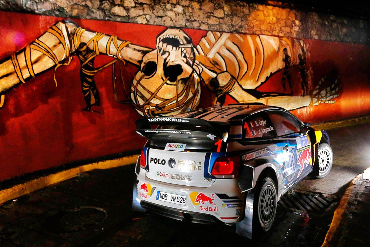 WRCメキシコ:デイ1はVWとヒュンダイが上位独占(1)