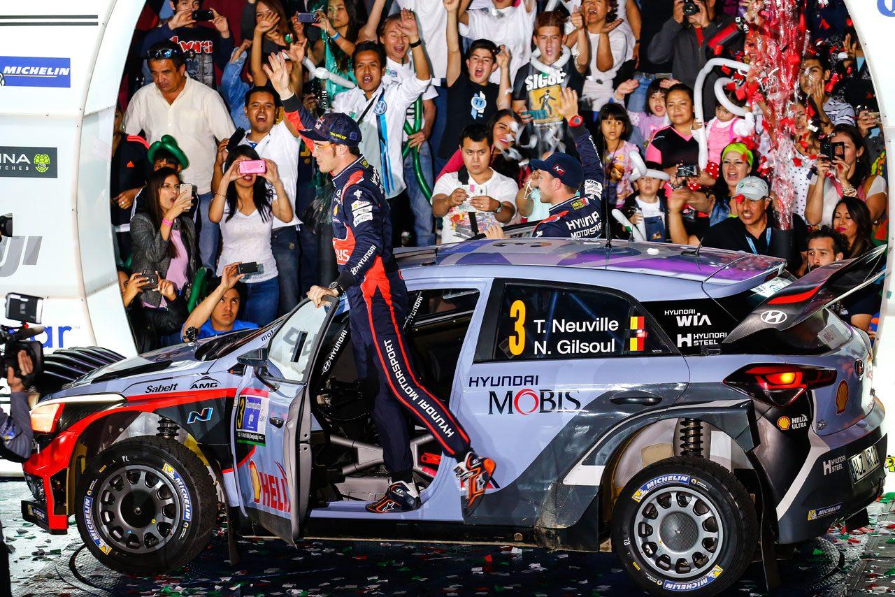 WRCメキシコ:デイ1はVWとヒュンダイが上位独占(2)