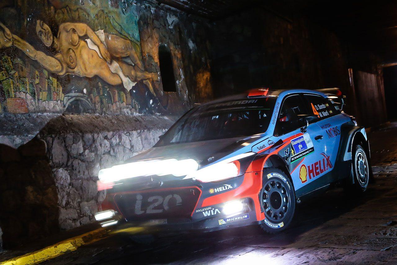 WRCメキシコ:デイ1はVWとヒュンダイが上位独占(3)