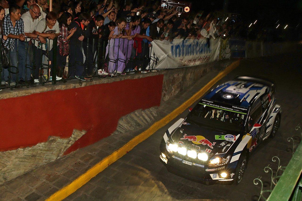 WRCメキシコ:デイ1はVWとヒュンダイが上位独占(4)