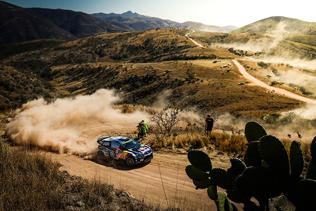 WRC第3戦メキシコ SS10後 暫定結果(1)