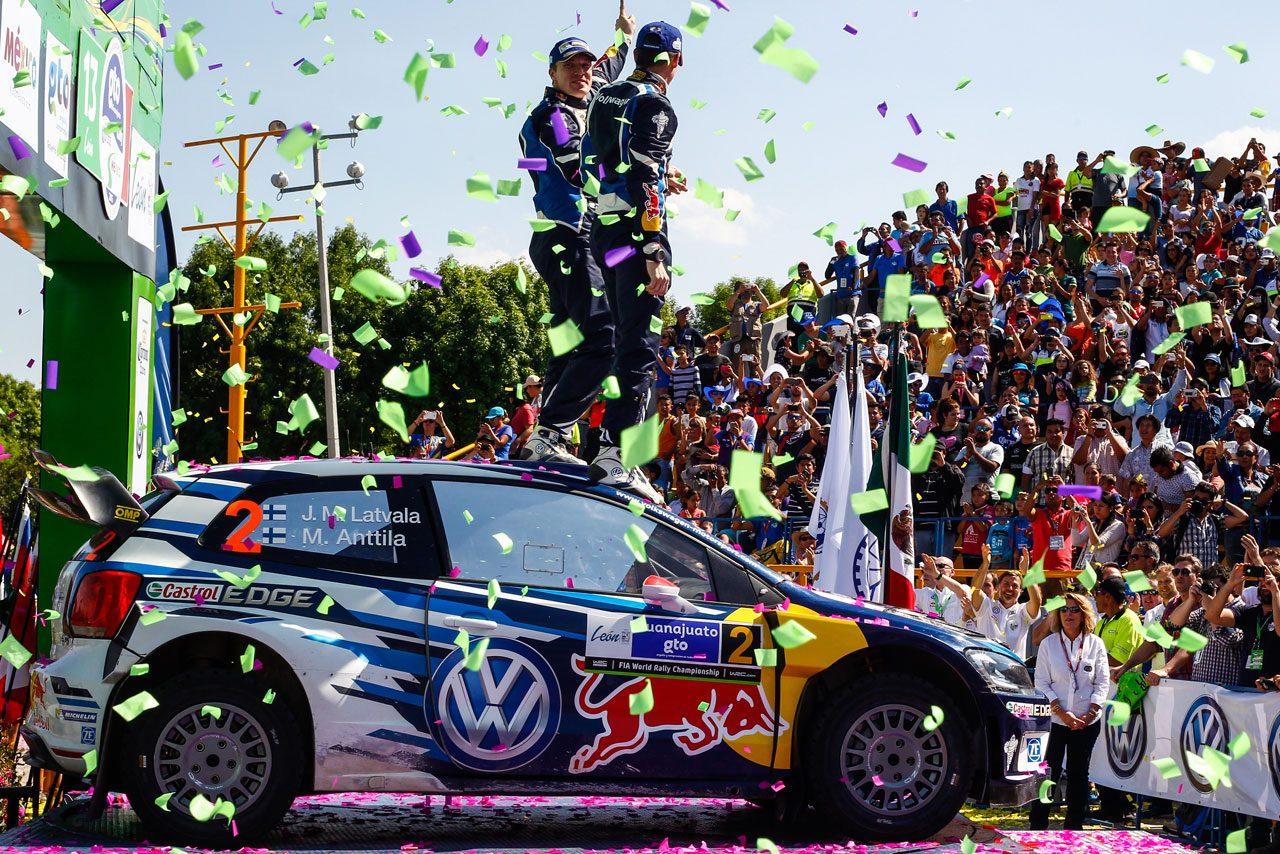 WRC第3戦メキシコ 暫定総合結果(1)