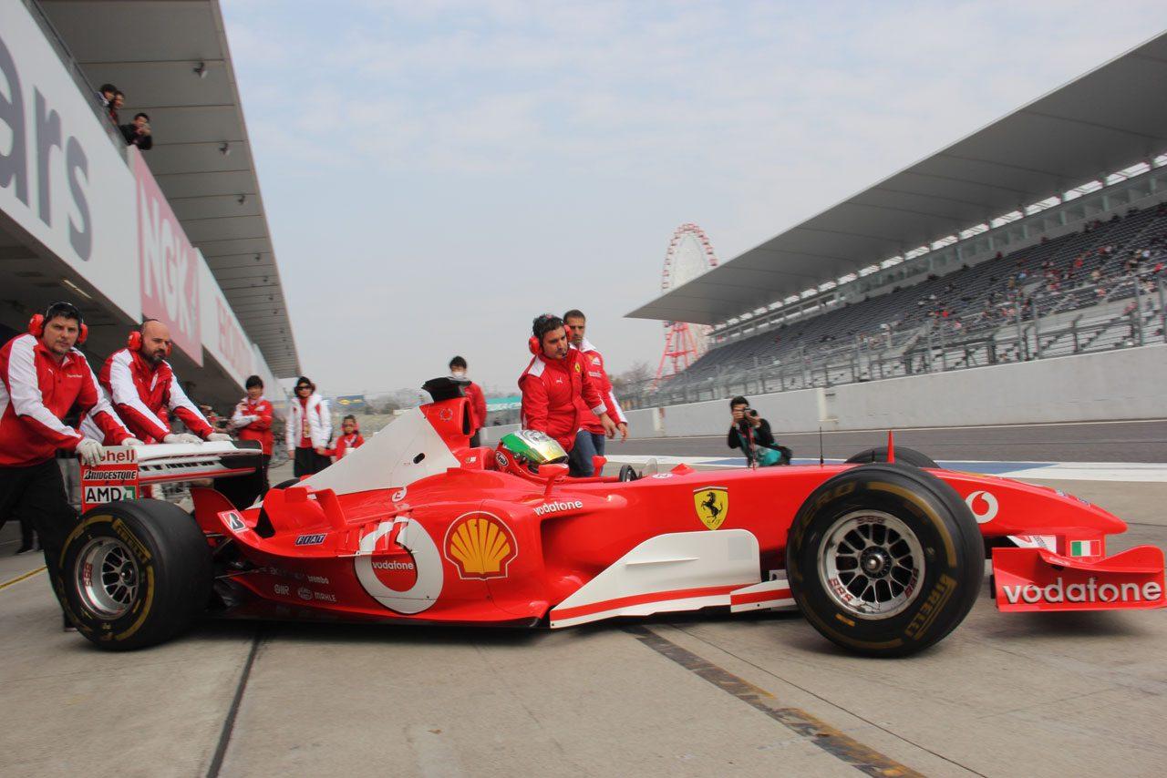 2台のフェラーリF1が鈴鹿を疾走しファンを魅了(5)