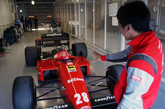 悲願成就! 次生F1初ドライブ「フェロモン出てます」(5)