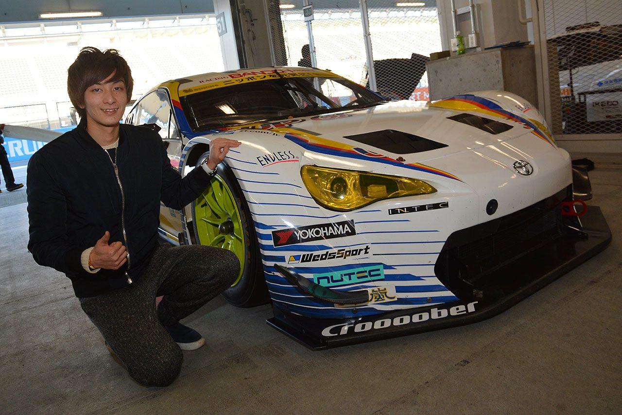 GT300に挑む山田真之亮「勉強しながら、楽しみながら」(1)