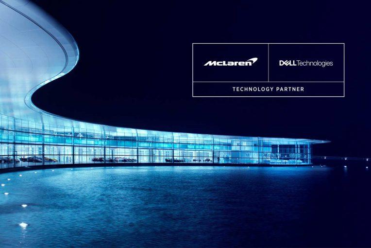 F1   マクラーレンF1、PC大手DELLの親グループ、『デル・テクノロジーズ』とパートナーシップ締結