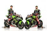 Kawasaki Racing Team WorldSBKのレイ(左)とサイクス(右)