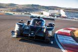 スペイン・アラゴンでテストを行うSMPレーシングのBR1・AER