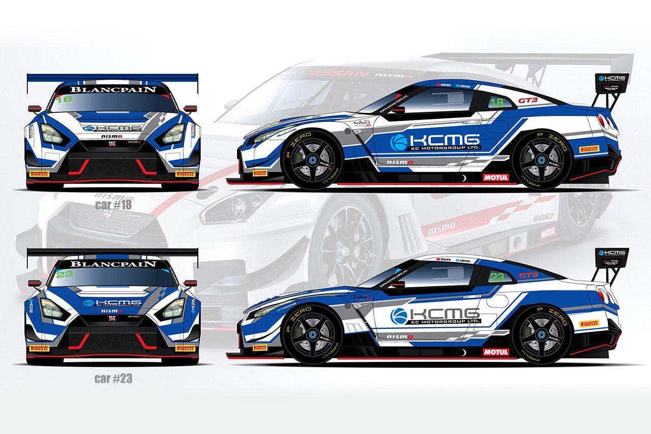 KCMGがニッサンGT-RニスモGT3を2台投入しブランパンGTアジアに参戦へ