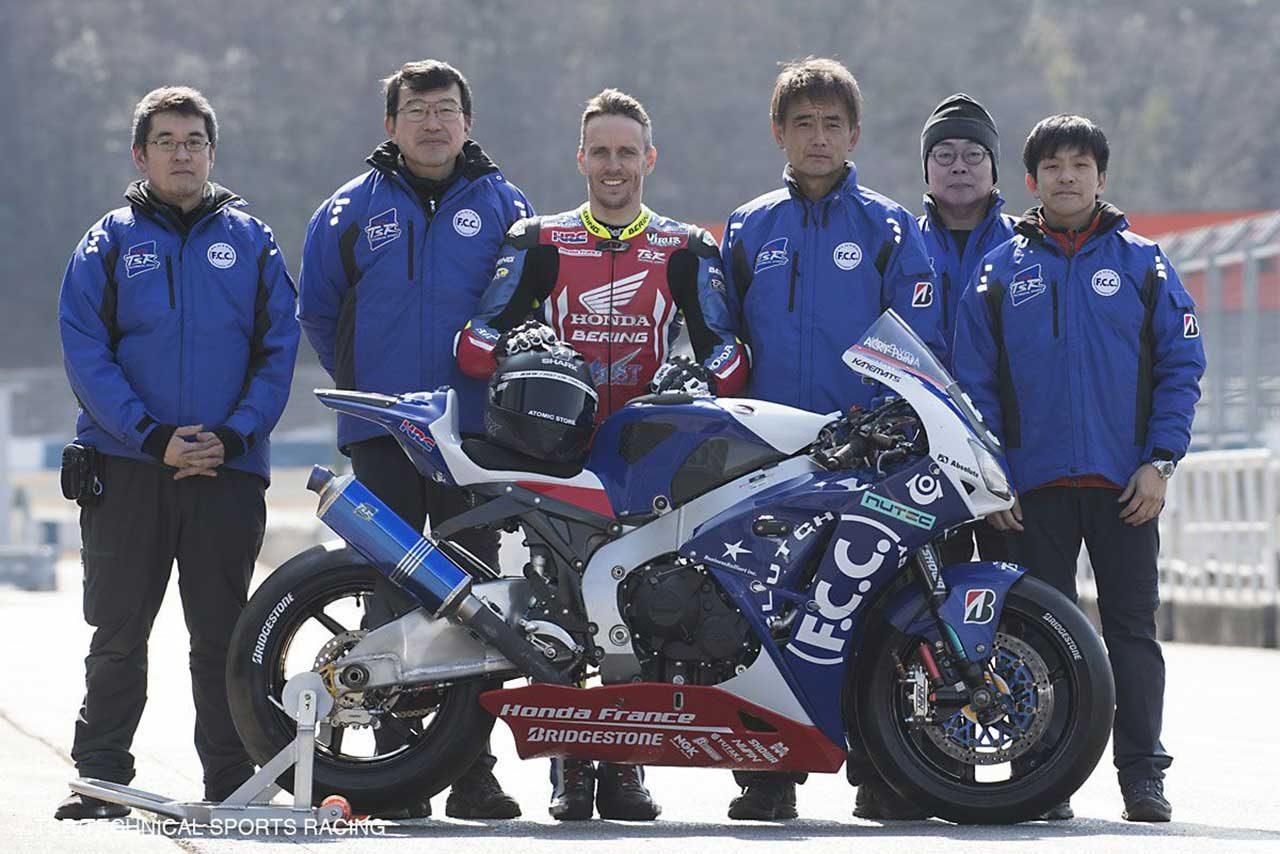 TSRホンダが新カラーリングのCBR1000RRを初披露。世界耐久選手権マシンをテスト
