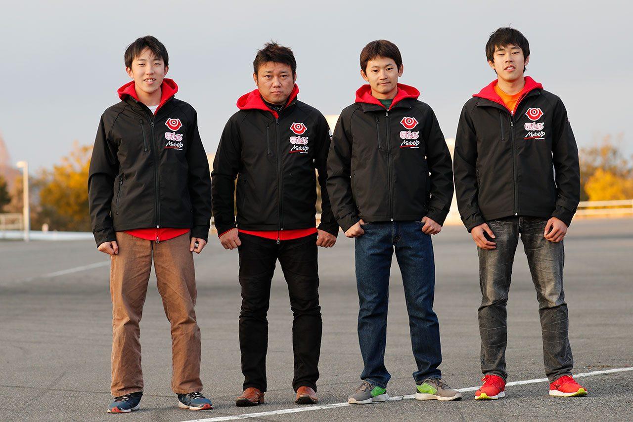 ホンダCBR1000RRで全日本ロードに参戦の秋吉、2018年は監督兼任。au・テルル参戦発表