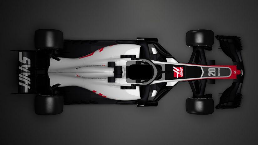 F1 | F1新車ギャラリー:ハース『VF-18』