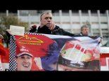 F1   【動画】ミハエルのファン、病院で早期回復を祈る