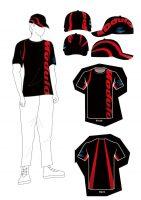 チームウエアは文化服装学院とのコラボレーションモデルが採用される