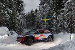 ラリー/WRC | WRC:ラリー・スウェーデンのシェイクダウンはヒュンダイ最速。トヨタは5番手