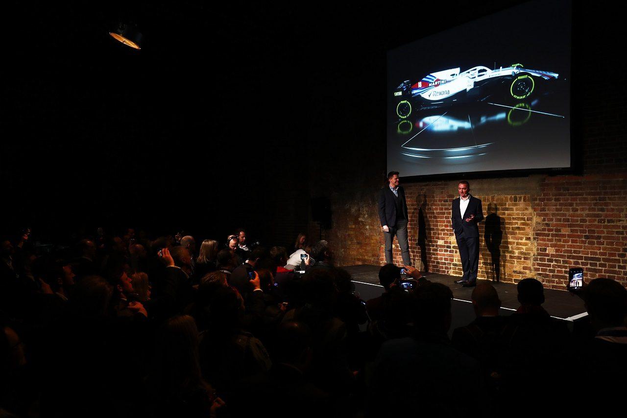 ウイリアムズF1、2018年型『FW41』を発表