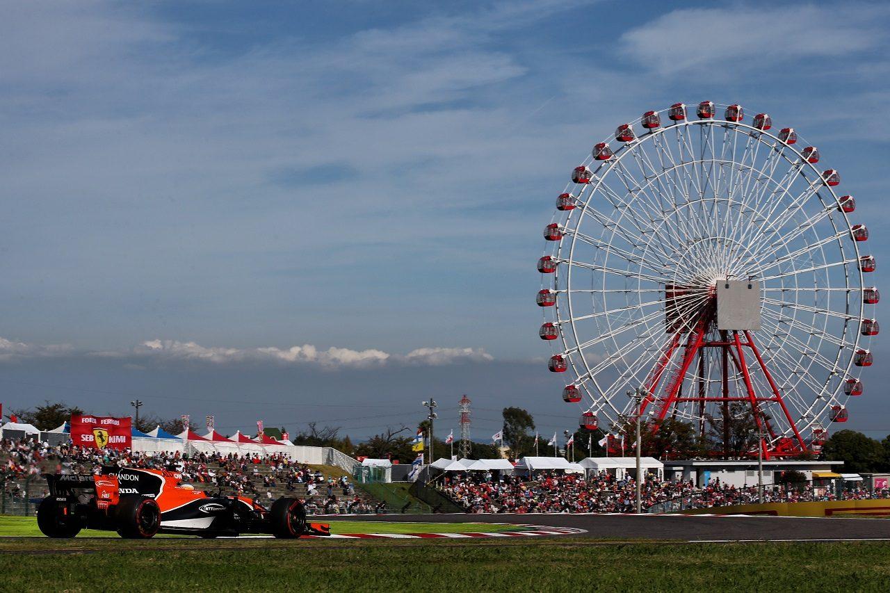 2017年F1日本GP フェルナンド・アロンソ(マクラーレン・ホンダ)