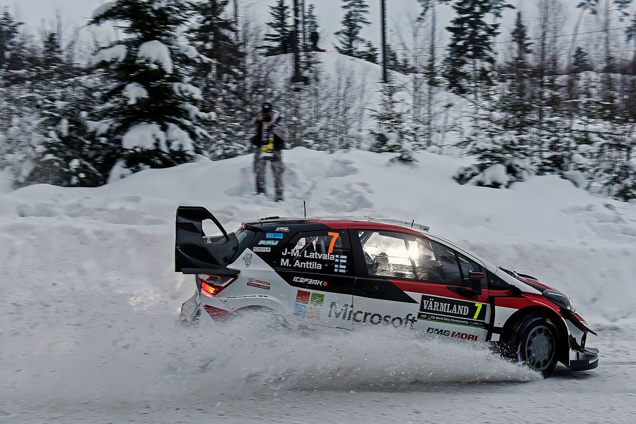 ラトバラ「あらためて速さと信頼性の両方が重要と感じた」/WRC第2戦スウェーデン デイ4コメント
