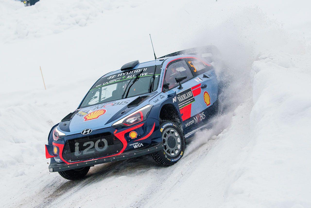 2018WRC第2戦スウェーデン