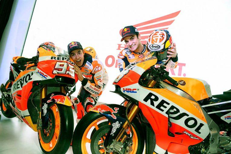 MotoGP | レプソル・ホンダがインドネシアで2018年型RC213Vを公開。マルケス、ペドロサも登場