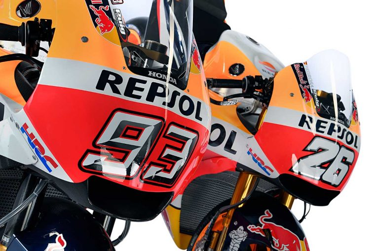 MotoGP | MotoGP:ホンダ、2018年型RC213Vのスタジオショット公開。空力カウルで「最大限のハンドリング」を実現